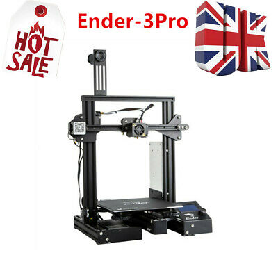 Creality Ender 3 Pro 3D Printer 220X220X250mm Thermal Runaway Protection • 239.99£