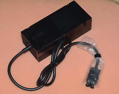 Genuine Microsoft OEM XBOX ONE Power Supply Brick Adapter 220V With Cable Cord • 23.01£