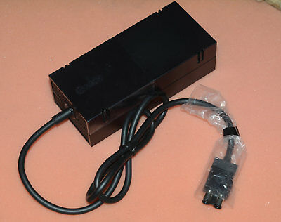 Genuine Microsoft OEM XBOX ONE Power Supply Brick Adapter 220V With Cable Cord • 29.99£