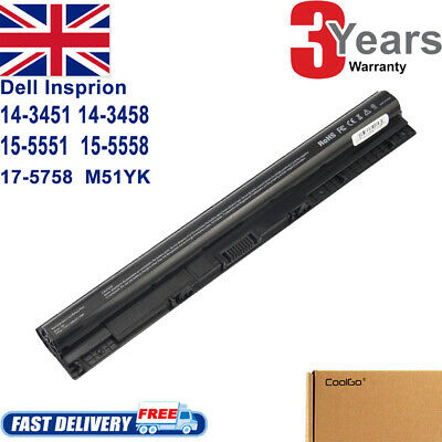M5Y1K Battery For Dell Inspiron 15 3555 3558 5551 5552 5555 5558 5559 40Wh • 19.99£