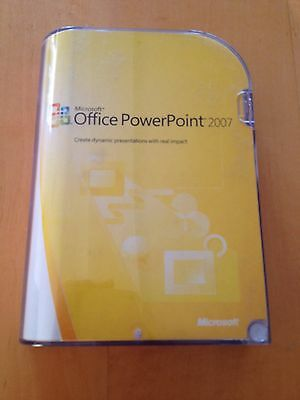 Office PowerPoint 2007 Retail W License • 55£
