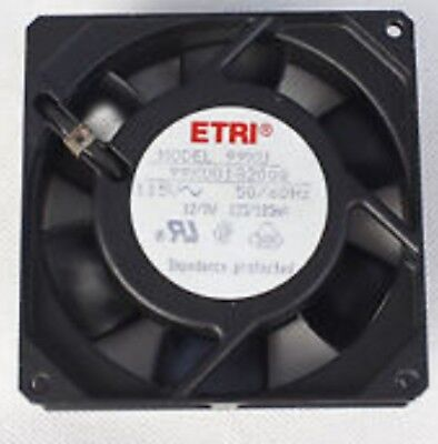 ETRI Model: 99XU Fan. PN: 99XU-2182-000 Salt Fog Axial Ball Bearing 208-240v • 29.90£