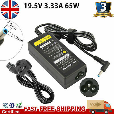 For HP Pavillion 14 Laptop Charger 740015-001 741727-001 19.5V 3.33A 65W CG • 9.49£