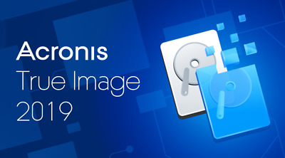 Acronis True Image 2019,protect Your Data,backup,clone & RESTORE DOWNLAOD FREE • 6.99£