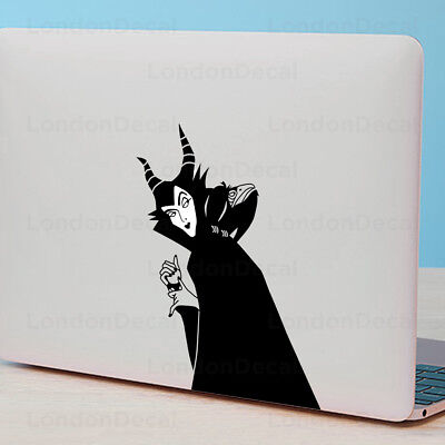 MALEFICENT - Apple MacBook Sticker Fits 11  12  13  15  & 17  Models • 4.99£