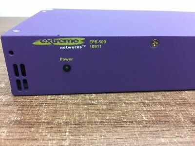 EXTREME Networks EPS-500 Model 10911 Summit External Power Supply Unit • 74.99£