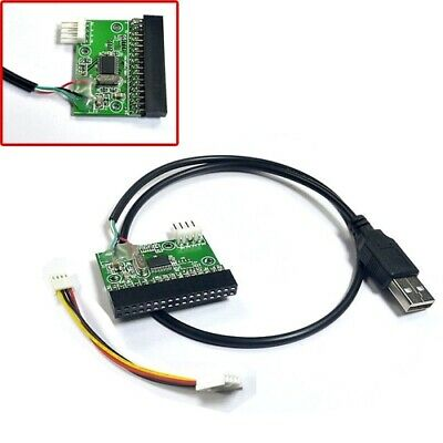 USB Cable To 3.5  34pin Floppy Interface Driver Adapter Converter PCB Board • 7.58£