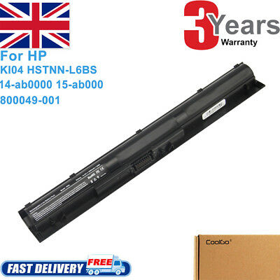 K104 K1O4 KI04 Battery For HP PAVILION HP Spare # 800049-001 HSTNN-LB6S/DB6T • 12.49£