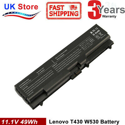 70+ Battery For Lenovo Thinkpad T530 T530I T430I T430 W530 42T4791 42T4751 COOL • 20.99£