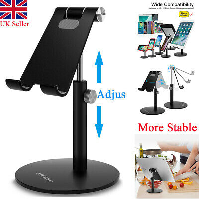 Universal Adjust Tablet Stand Holder Desk For IPad Mobile Phone Samsung IPhone • 14.99£