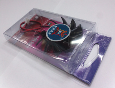 2Pin 65mm 6.5cm 2 Hole 11 Blades PC VGA Video Graphics Card Cooling Fan - 34MM • 2.42£