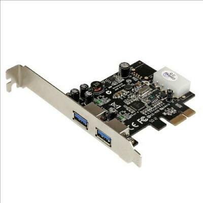 2 Port 5gbps Usb 3 Pcie Controller Card • 5£