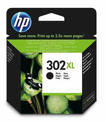 HP 302XL Black Ink Cartridge (F6U68AE) • 25.91£