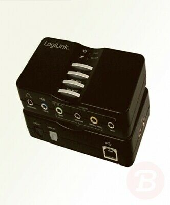 LogiLink USB 2.0 7.1 Channel Sound Box • 37.56£