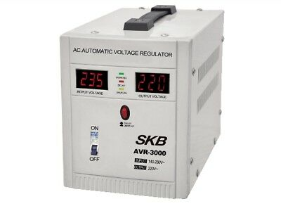 Stabilizer Of Voltage And Current 3000VA/1800W With Display Digital GBC • 102.22£
