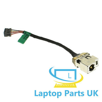 DC Jack Power Cable For Hp 15-b109wm 15-b119wm Pavilion Wire Socket Connector • 9.98£
