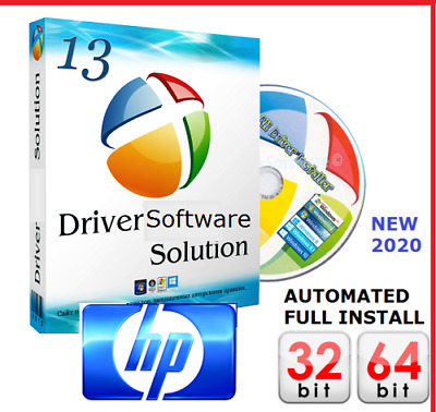 HP Windows PC & Laptop DRIVERS DVD Recovery|Restore|Install XP|Vista|7|8|10 UK • 1.89£