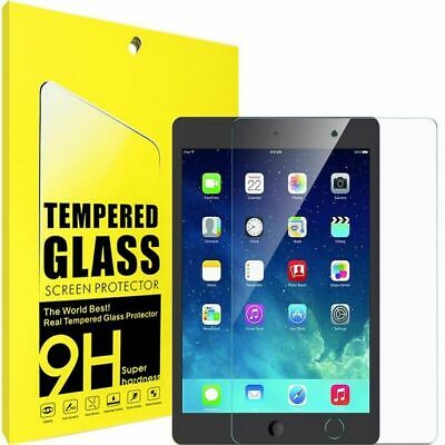 Genuine TEMPERED GLASS Screen Protector For Apple IPad 9.7  6th 5th Generation • 4.49£