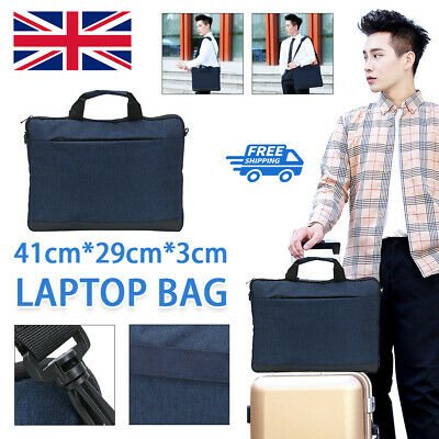 15.6-inch Laptop Case For Dell HP Sony Asus Samsung Notebook Blue Laptop Bag • 7.99£