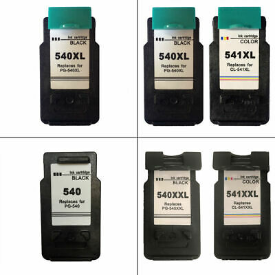 Refilled PG540 CL541 XL XXL Ink Cartridges For Canon PIXMA MG3650 Printer • 24.95£