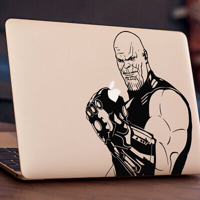 THANOS Apple MacBook Decal Sticker Fits 11  12  13  15  And 17  Models • 4.99£