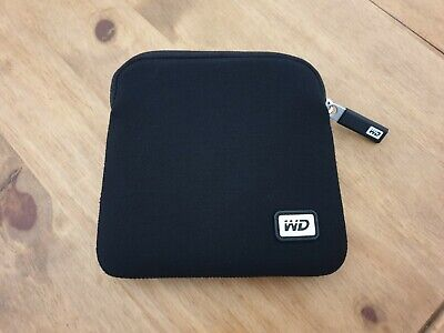 NEW WD My Passport PRO Neoprene Carrying Case Genuine WD UK **Western Digital** • 11.99£