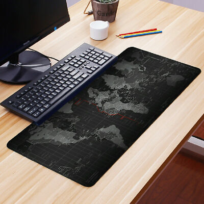 90CM X 30CM EXTRA LARGE XL GAMING MOUSE PAD MAT FOR PC LAPTOP MACBOOK ANTI-SLIP • 6.99£