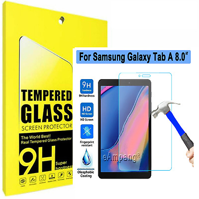 TEMPERED GLASS Screen Protector For Samsung Galaxy Tab A 8.0 Inch T350 T290 T380 • 3.95£