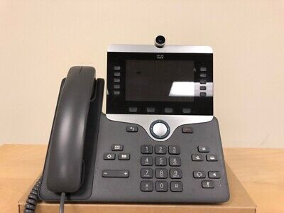 Cisco CP-8865 Unified IP VoIP Video Office UC Phone Telephone • 120£