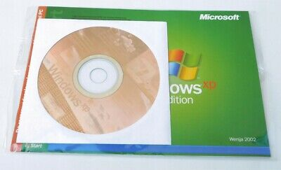 Windows Xp Home Edition Sp2 Cd Disc + Full Product Coa Genuine License Uk • 20£