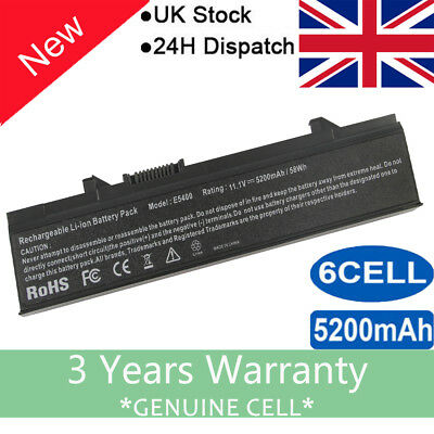 Battery For Dell Latitude E5400 E5410 E5500 E5510 KM742 RM668 KM760 MT186 WU852 • 11.99£
