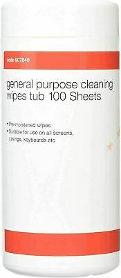 5 Star 907840 Cleaning Wipes For PC, Mobile Phone , Desks, - 100 Pack    • 6.45£