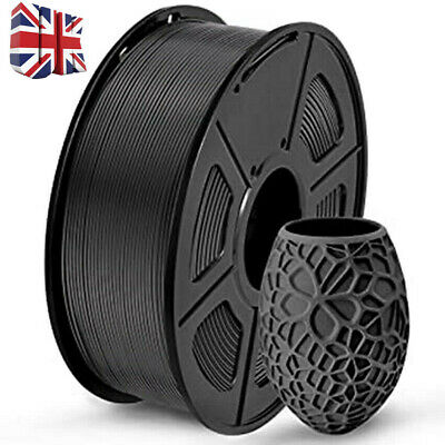 Ender 1Kg 1.75mm PLA Filament For Anycubic I3 Mega Creality Ender 3/5 Pro Black • 19.99£