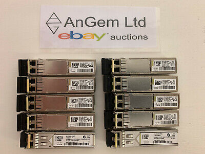 10 X Cisco GLC-SX-MMD. • 50£