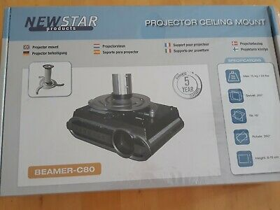 NEW! NewStar BEAMER-C80 Projector Ceiling Mount • 54.99£