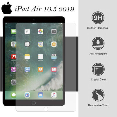 HD+ Genuine Tempered Glass Screen Protector For Apple IPad Air 3 2019 10.5 Inch • 3.49£