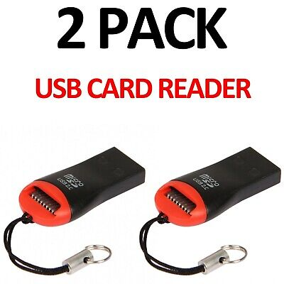 Memory Card Reader To Usb Micro Sd Sdhc Sdxc Tf Adapter Fast Usb 2.0 Speed • 1.39£