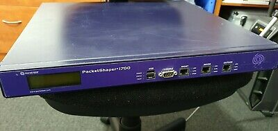 Packeteer PS1700 Packet Shaper 1700 Rack Network Monitoring System. Bluecoat • 49.95£