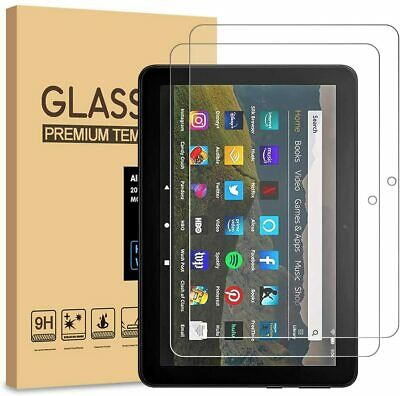 2Pack Tempered Glass Screen Protector For AMAZON KINDLE FIRE HD 7 10 8 Plus 2020 • 4.29£
