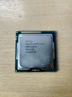 Intel Core I7-3770 3.4GHz Quad-Core Processor - Used • 40£