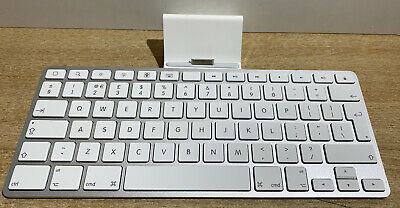 APPLE KEYBOARD A1359 Dock For IPad GENUINE SILVER • 9.50£
