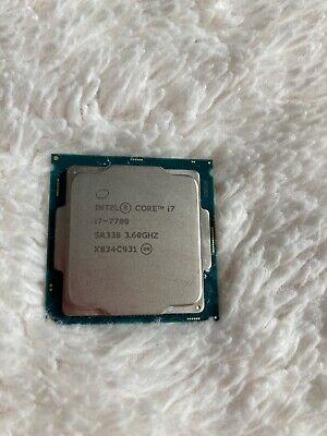 Intel  Core I7-7700 Processor, LGA1151  • 175£