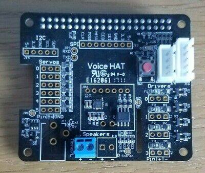Raspberry Pi Google Voice HAT W Microphone And Button, Make Your Own Google Home • 14.50£