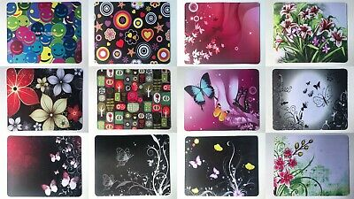 22cm X 18cm Printed Neoprene Mouse Mat Pad, Assorted Designs, Butterfly, Flowers • 4.99£