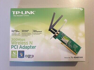 TP-Link TL-WN851ND Wireless PCI Card - Fully Functioning • 5.99£