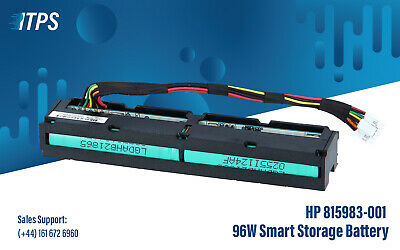HP 815983-001 96W Smart Storage Battery 750450-001 878643-001 • 42£