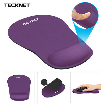 Mouse Mat With Wrist Support Gel Rest, Comfort Mice Pad Anti Slip For Laptop PC • 5.99£