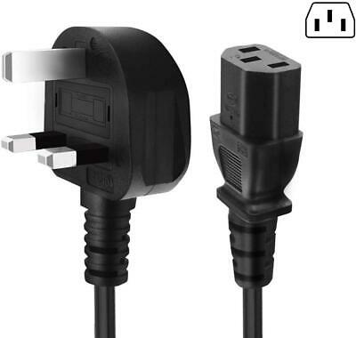 1.8M 3 Pin UK Power Cable Plug Cord Fuse Kettle Lead For Samsung Sony PC TV  • 5.95£