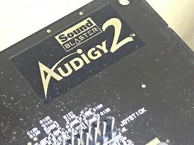 *** Creative Labs Audigy 2 - High End Pc Audio Card *** • 19.99£