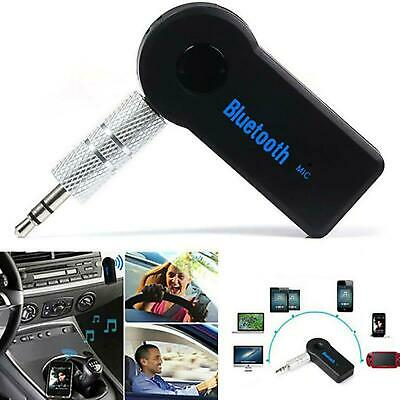 Wireless Bluetooth Receiver Audio Adapter With Mic For Car Music Aux 3.5mm Jack • 2.89£